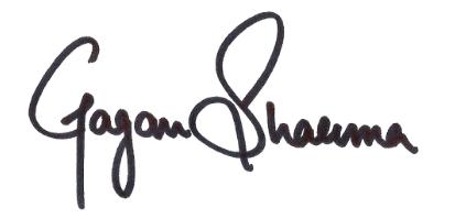 Gagan Sharma Indulge Sign